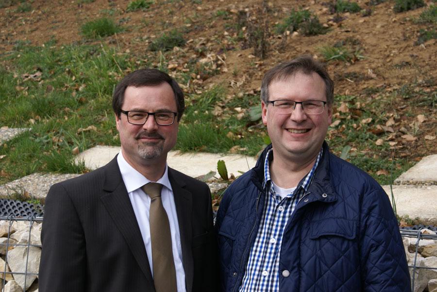 Gemeindeleitung Heinz und Thomas